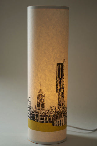 A Northern Light Manchester Skyline Table Lamp