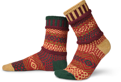 Solmate Maple Leaf Cotton Socks