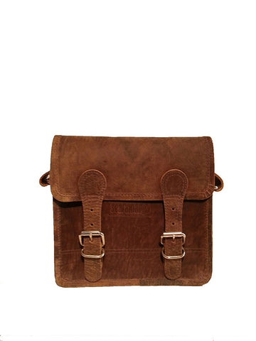 Scaramanga Micro Leather Satchel 9""