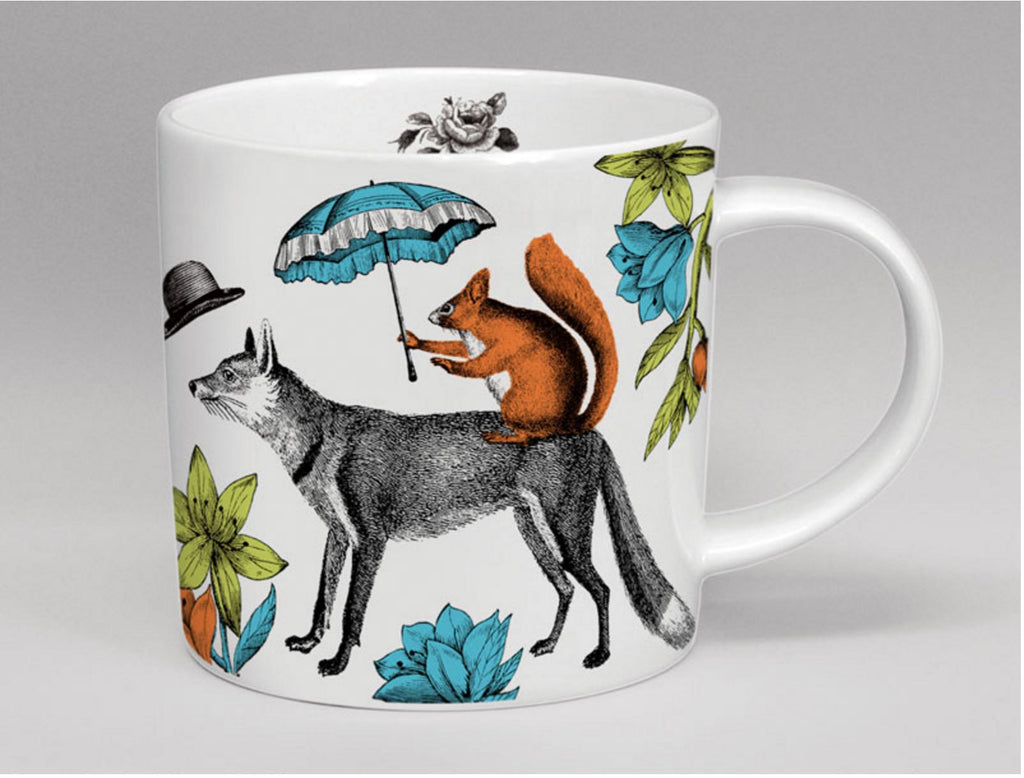 Repeat Repeat Mr Fox Menagerie Mug