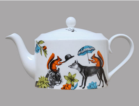 Repeat Repeat Mr Fox Teapot
