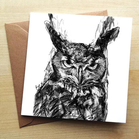 Wraptious Owl Greeting Card