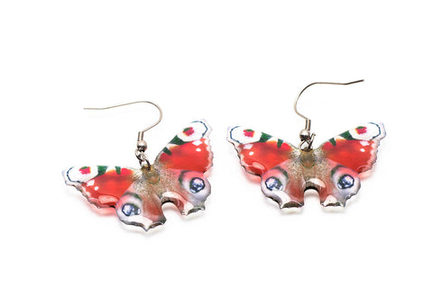 Magic Accessories Peacock Butterfly Earrings