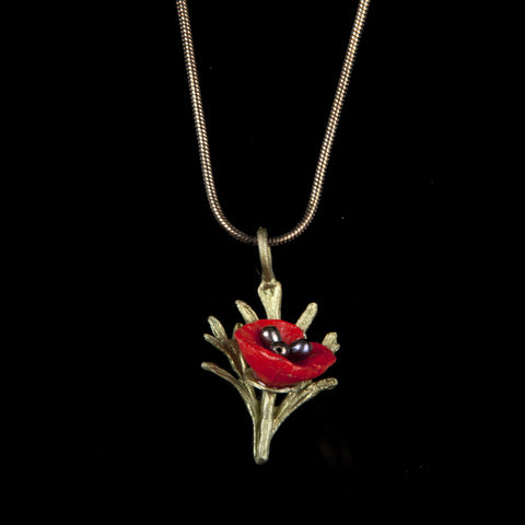 Michael Michaud Poppy Pendant