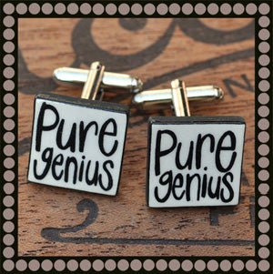 Pure Genius Cufflinks