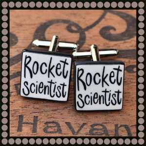 Rocket Scientist Cufflinks
