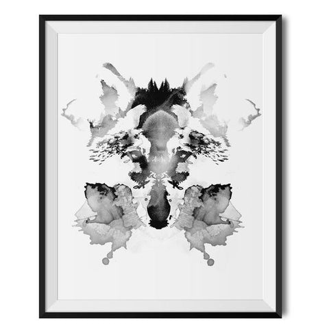 Wraptious Rorschach A3 Print