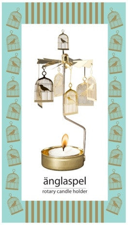 Birdcage Rotary Candle Holder