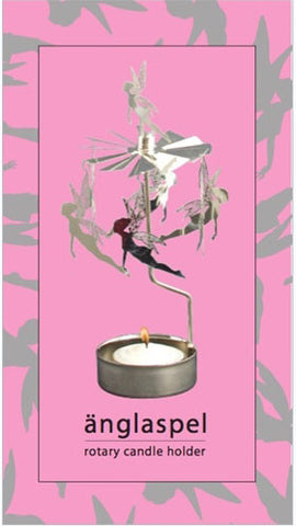 Fairy Rotary Candle Holder