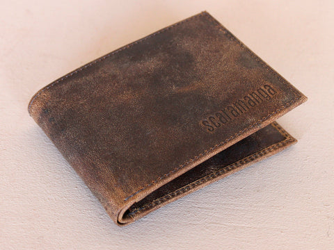 Scaramanga Buffalo Leather Wallet