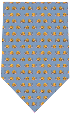 Fox And Chave Snails Silk Tie