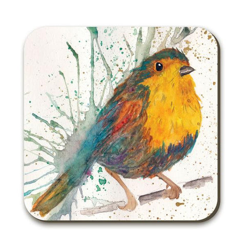 Wraptious Splatter Bird Coaster