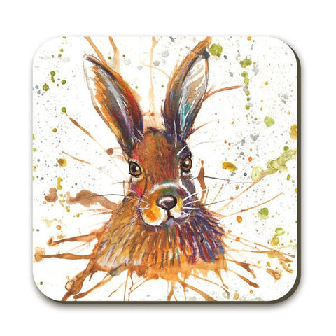 Wraptious Splatter Hare Coaster
