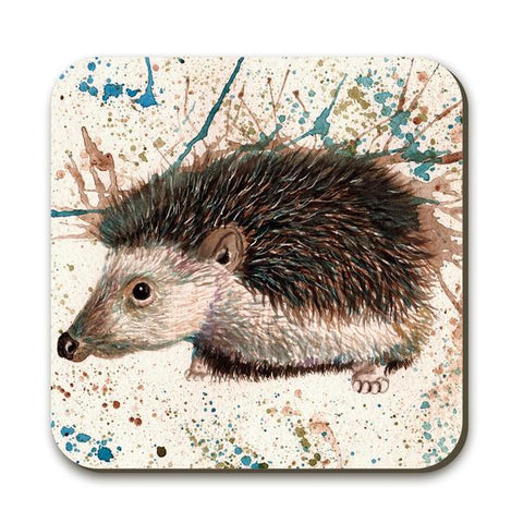 Wraptious Splatter Hedgehog Coaster