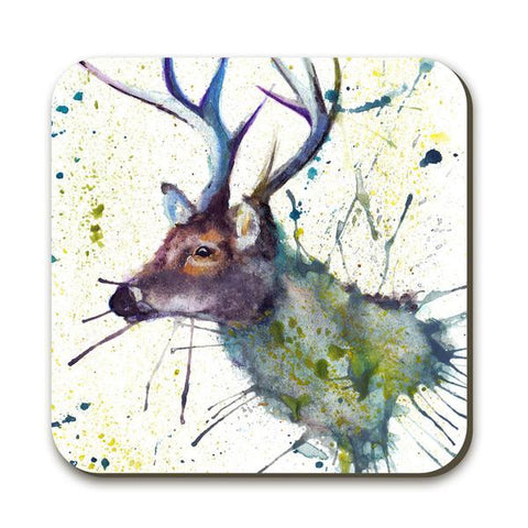 Wraptious Splatter Stag Coaster