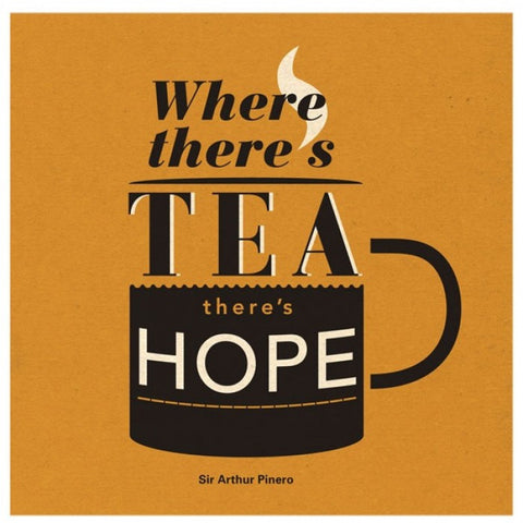 Urban Graphics Tea Hope Greetings Card
