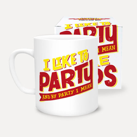 UStudio Party And Naps Mug