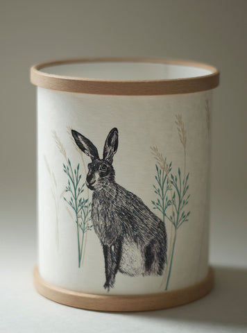 A Northern Light Wild Hare Candle Cover