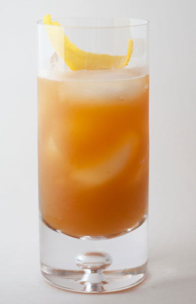 Cider Bourbon Cocktail Recipe with Bangkok Bitters