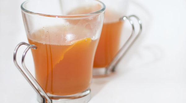 Hot Cider Bourbon Cocktail Recipe with Homemade Bitters