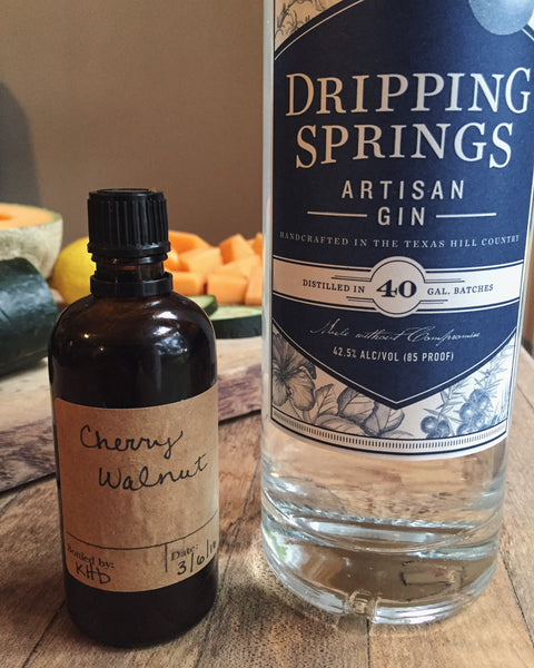 Dripping springs gin DIY dash bitters