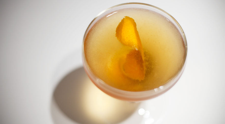 Manhattan Cocktail Recipe with Aromatic Bitters