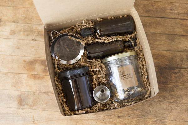 Make Your Own Bitters Kit Homemade DIY Cherry Walnut