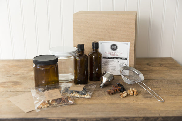 Craft Your Own Bitters Kit Cherry Walnut Recipe