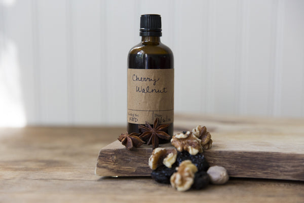 DIY Cherry Walnut Bitters Ingredients