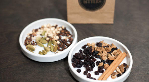Homemade Aromatic Bitters Recipe Ingredients Refill Kit With Cinnamon Cardamom All Spice Berries