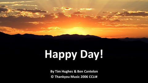 Happy Day PowerPoint Sample