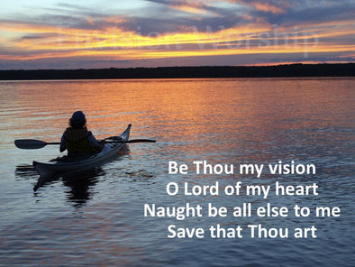 Be Thou My Vision Worship slides