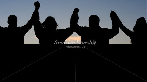 Worship image, Church Powerpoint background, church unity image