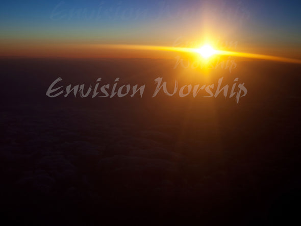 Sun  rays , sunbeam, sunrise worship slides