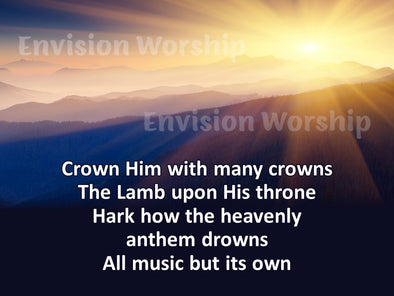 Crown Him With Many Crowns lyrics
