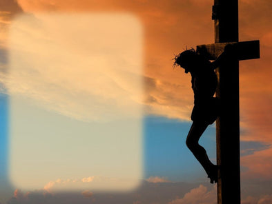 Good Friday church powerpoint with crucifix is gorgeous and powerful.