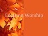 Fall colors worship slides