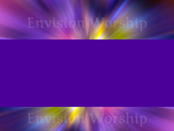 Purple Worship Slide