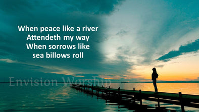 when peace like a river worship slides