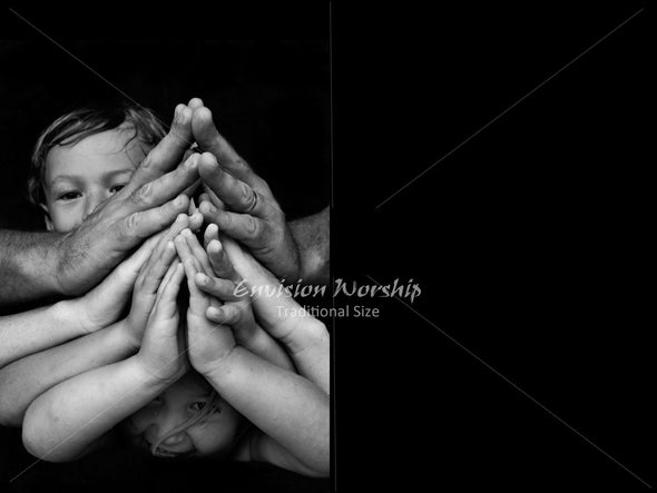 Family Prayer image, Children Praying image, Family Prayer PowerPoint