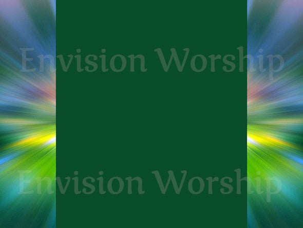 Liturgical green church PowerPoint