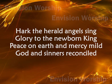 Hark The Herald Angels Sing Worship Slide