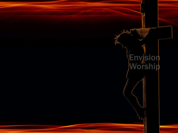 Passion of Christ church slide captures and communicates Christ's sacrifice for us.