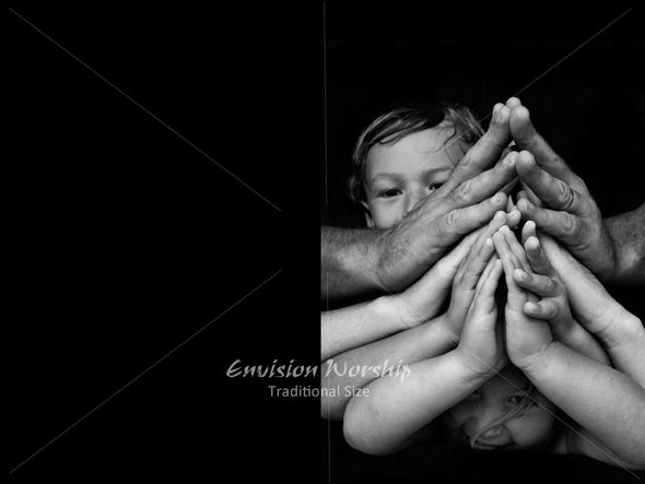 Family Prayer image, Child's prayer image, Prayer image, Child praying PowerPoint Slide image
