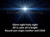Silent Night PowerPoint template