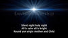 Silent night worship slides