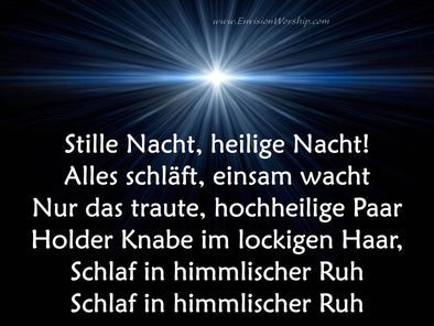 Stille Nacht PowerPoint