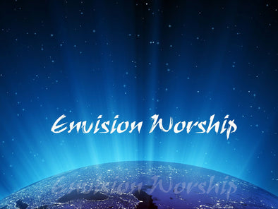 Earth Christian Background PowerPoint Slide
