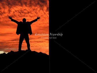 Mountaintop image, Praise image, Christian PowerPoint image