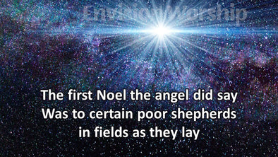 The First Noel worship slides